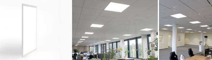 WSH Bürobeleuchtung LED Panel