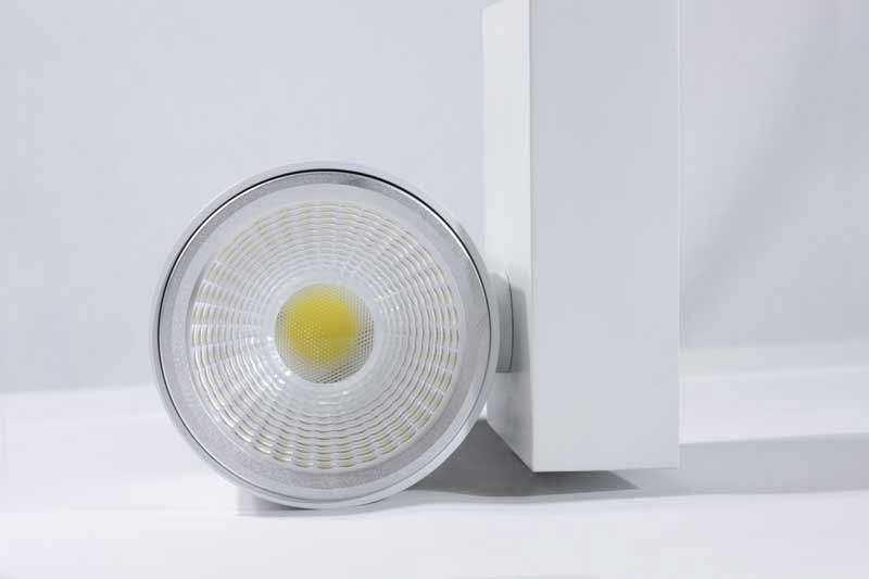 LED Stromschienenstrahler Serie TR - Einflammig