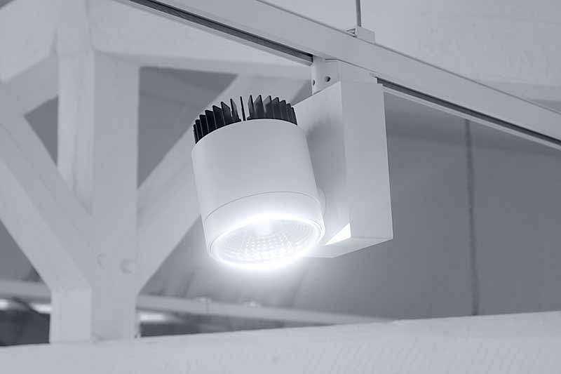 LED Stromschienenstrahler Serie TR - Licht
