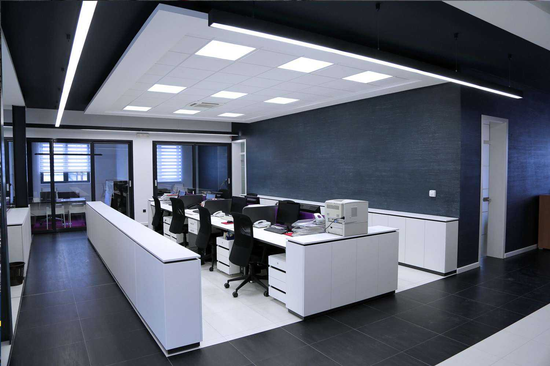 Bürobeleuchtung mit 5000 Kelvin