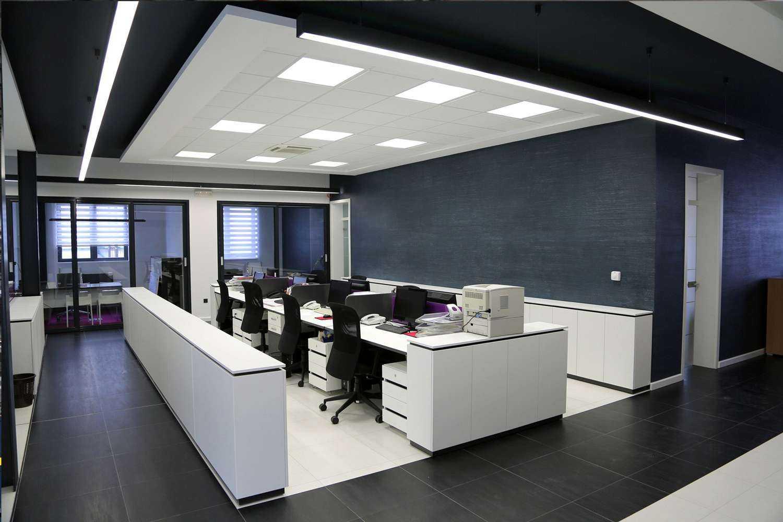 Bürobeleuchtung mit 4000 Kelvin