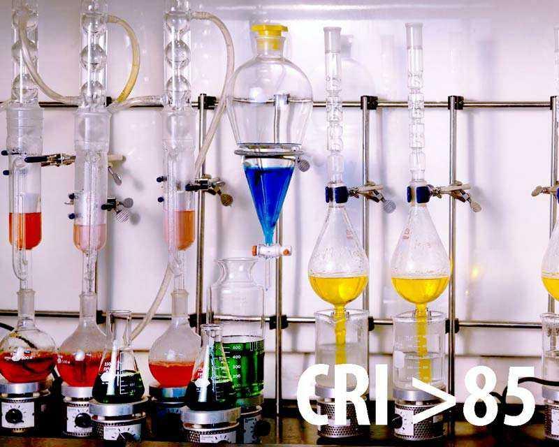 Farbwiedergabeindex CRI 85