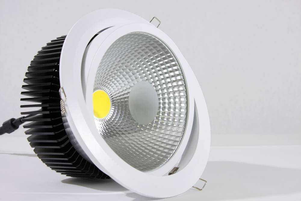 LED Downlight Serie BD - Schwenkbar