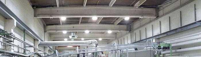 LED Hallenbeleuchtung von Wir sind heller