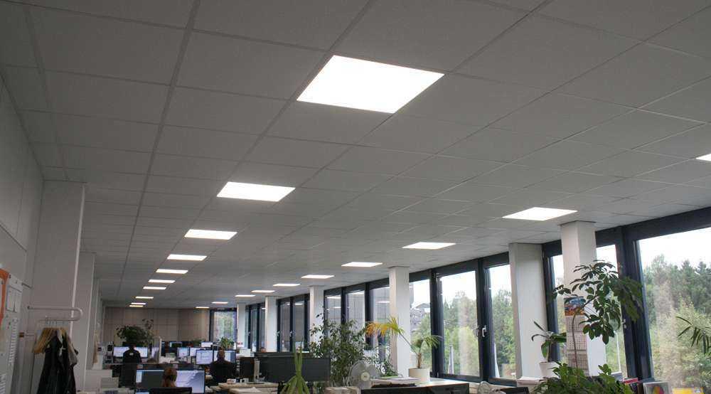 LED Panels in der Bürobeleuchtung