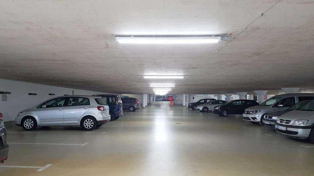 LED Universalleuchte TP2 Tiefgarage