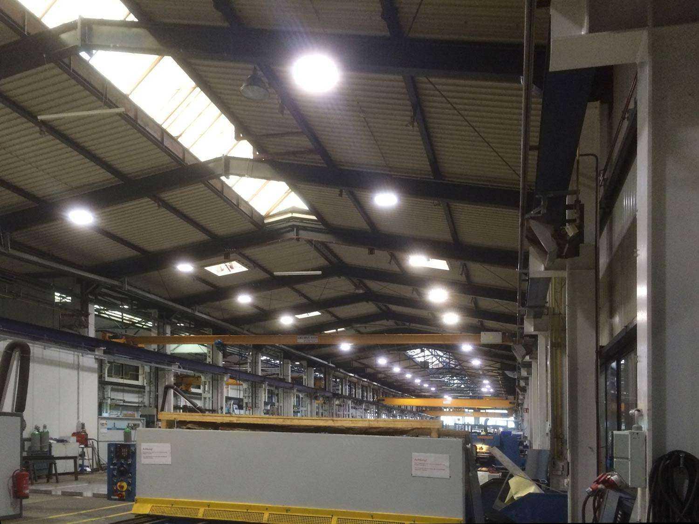 LED Hallenstrahler - Tageslichtsteuerung