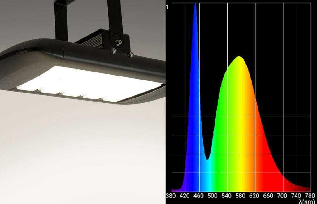 Lichtspektrum MH Strahler 5000K