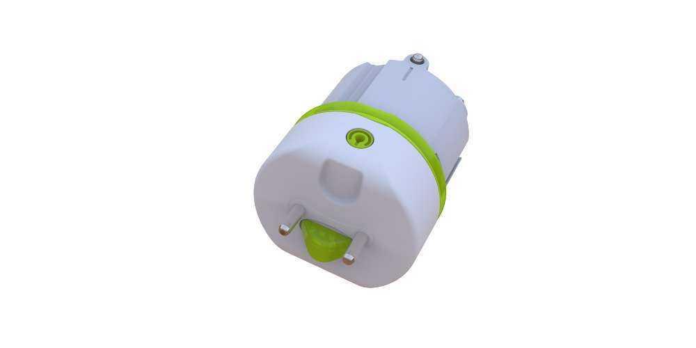 T8 LED Röhre für EVG - Endkappe Ansicht 2