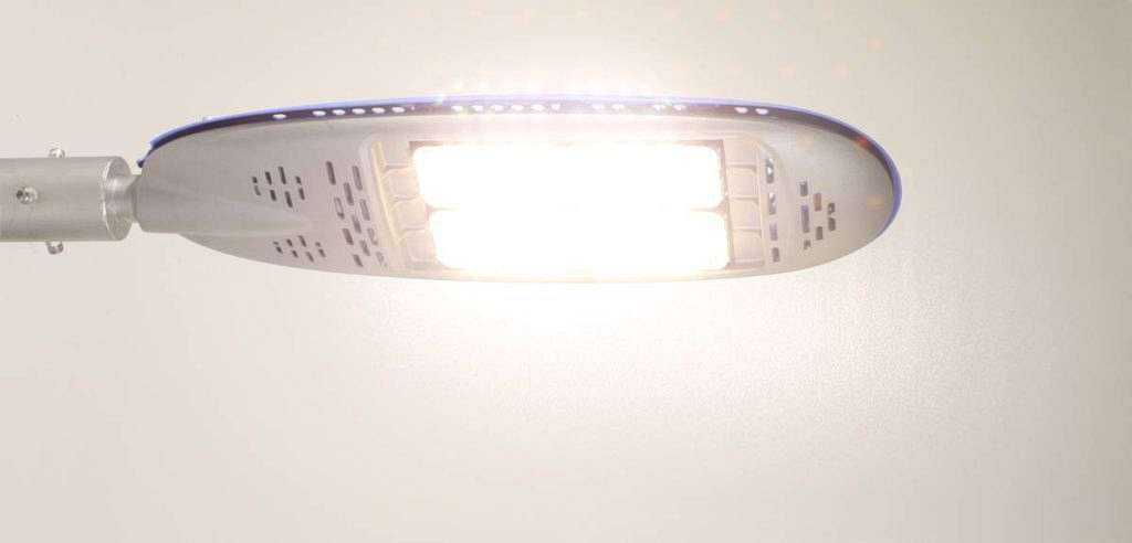 LED Straßenleuchte Twin