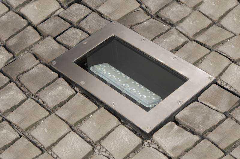 LED Bodeneinbaustrahler - Ansicht 1
