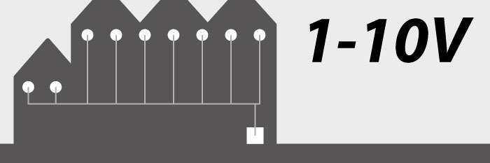 1-10V Lichtsteuerung