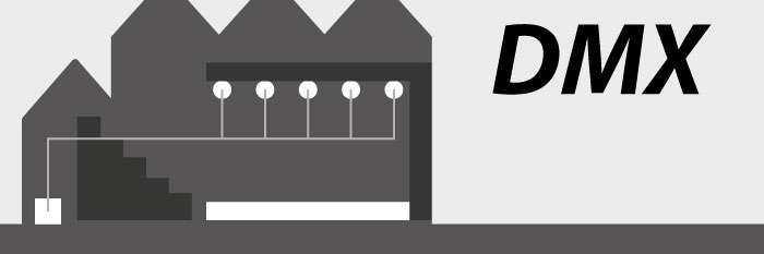 Die DMX Lichtsteuerung