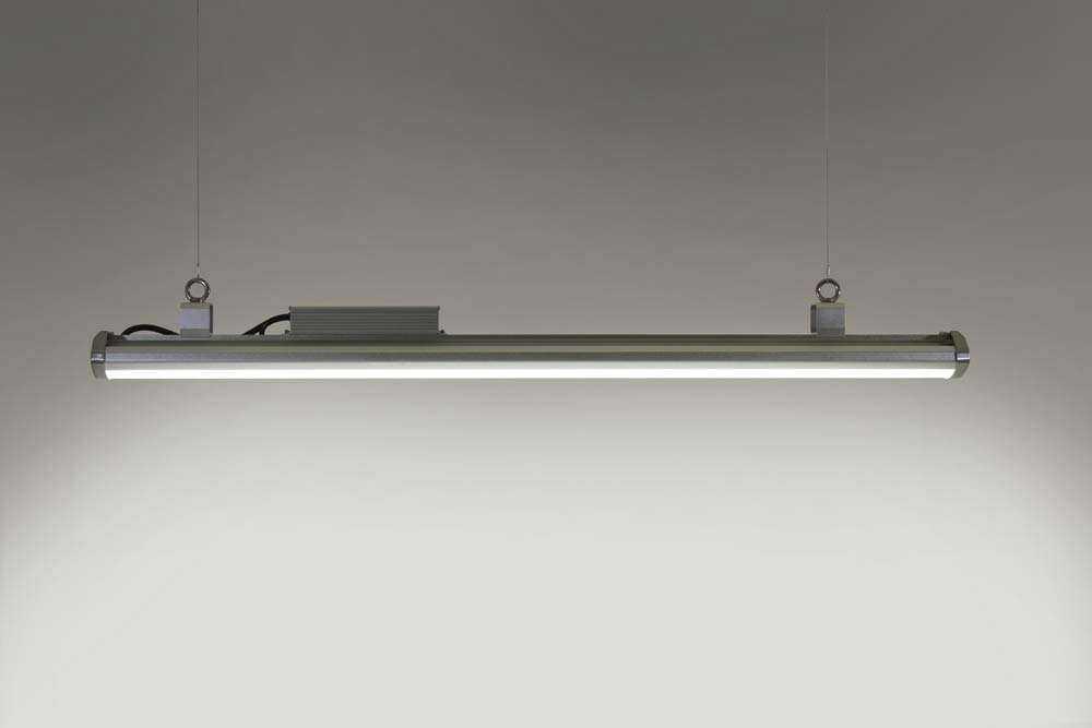 LED-Hallenstrahler Serie HPT - Abgependelt