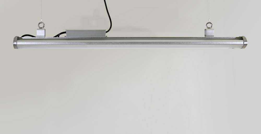 LED-Hallenstrahler Serie HPT - Seitenansicht 2