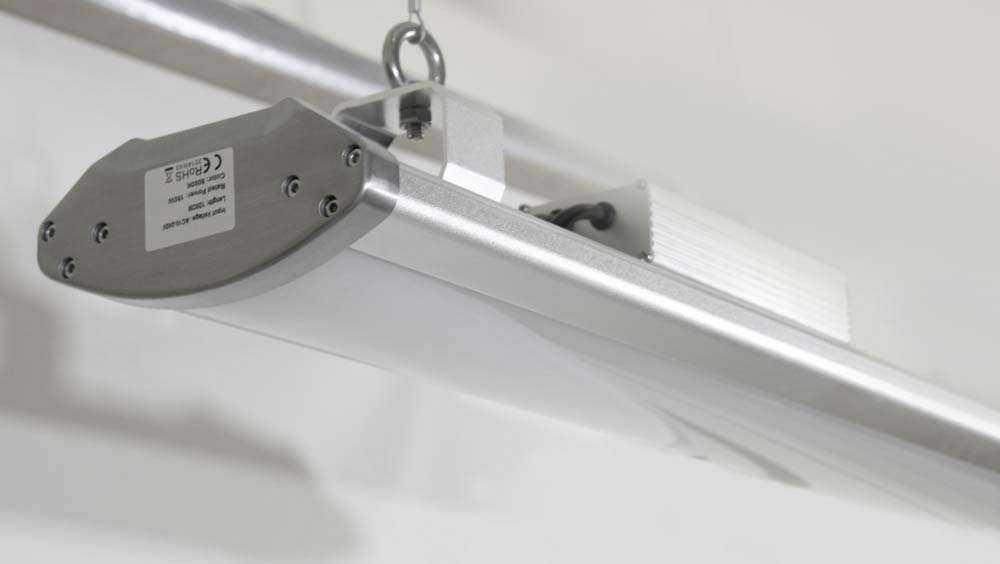 LED-Hallenstrahler Serie HPT - Abhängung 1