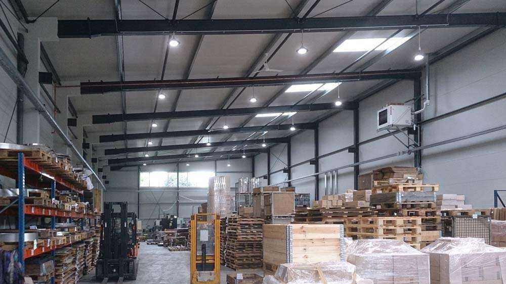 WSH LED Hallenstrahler WH Lager