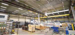 WSH LED Lichtbandsystem Linear Anwendung Holzverarbeitung