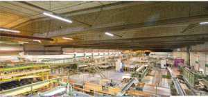 WSH LED Lichtbandsystem Linear Anwendung Lagerhalle