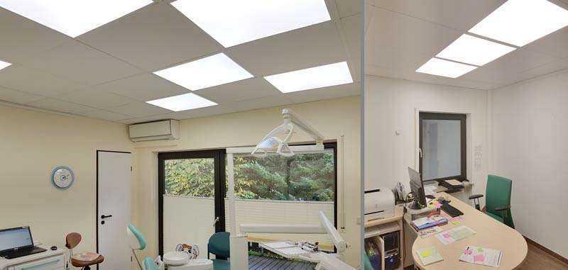 WSH LED Panel LTOP Zahnarztpraxis