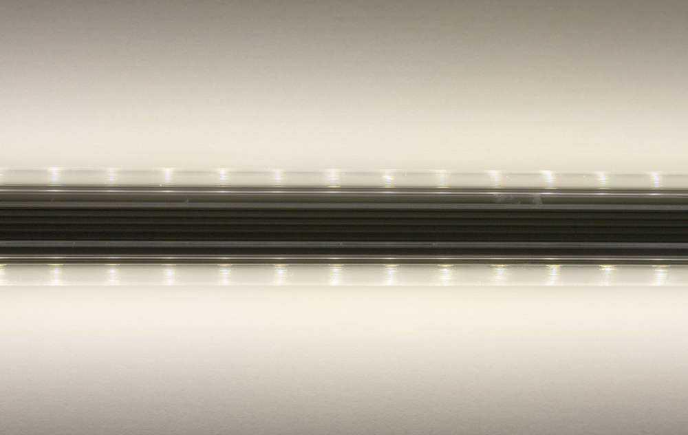 Doppelseitig abstrahlende LED Röhre - Lichtabstrahlung