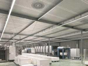 WSH Lichtbandsystem LS15 Druckerei
