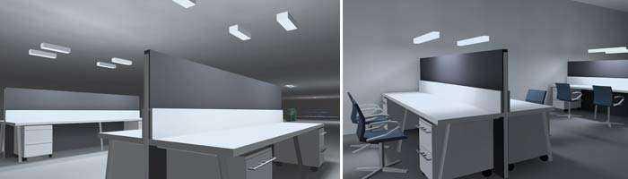 Beleuchtungskonzept LED Arbeitsbeleuchtung