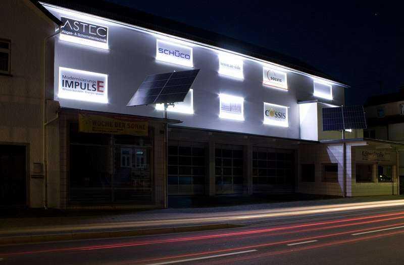 Werbebeleuchtung aeo-GmbH
