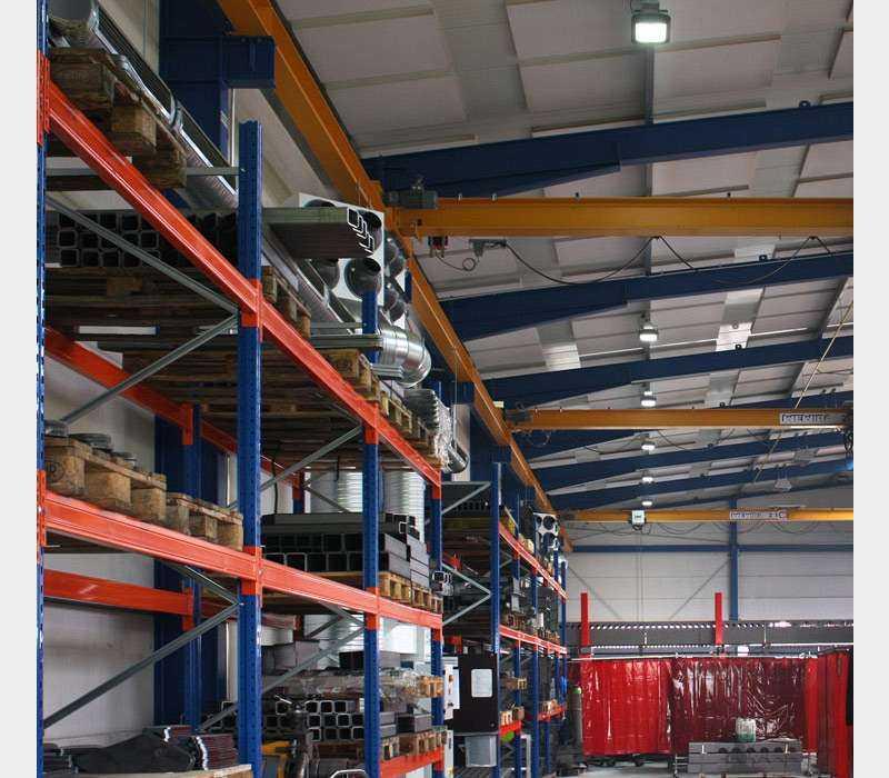 LED Hallenstrahler - Anwendung Industriebeleuchtung