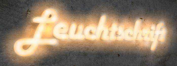Lichtreklame - Lichtwerbung