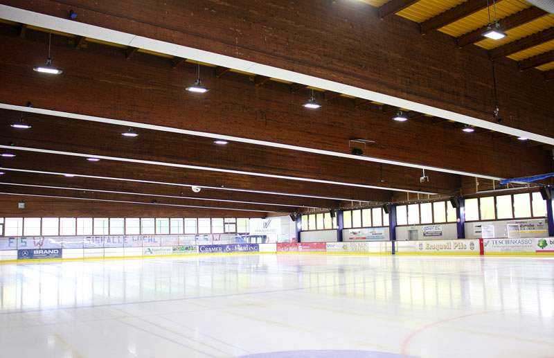 LED Beleuchtung Eissporthalle Wiehl