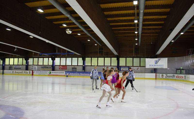 LED Beleuchtungslösung Eissporthalle Wiehl
