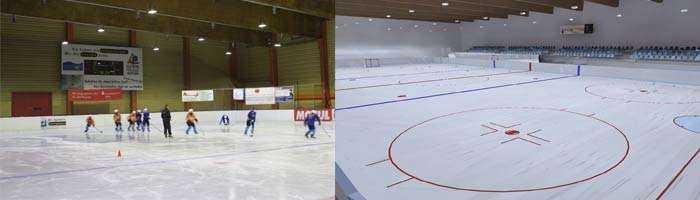 Lichtkonzept Eissporthallenbeleuchtung