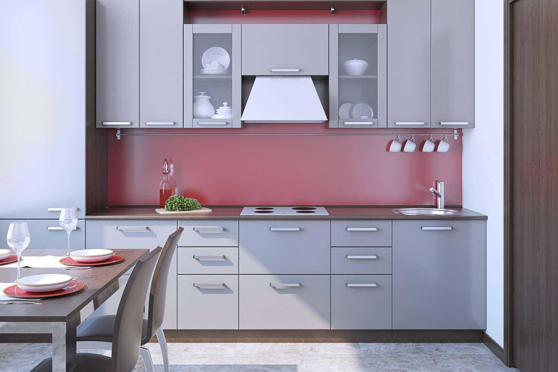 Küche bei 5000 Kelvin