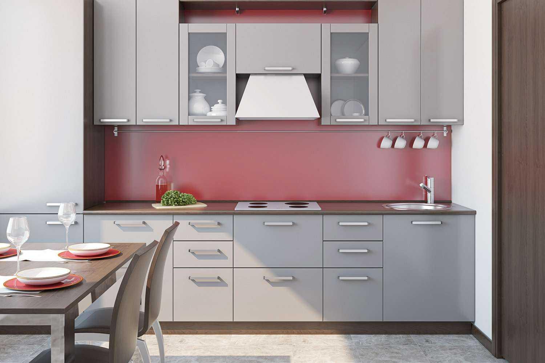 Küche bei 4000 Kelvin