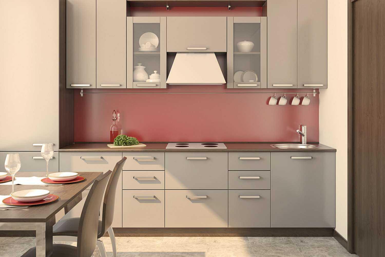 Küche bei 3000 Kelvin