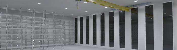Konzept LED Hallenstrahler