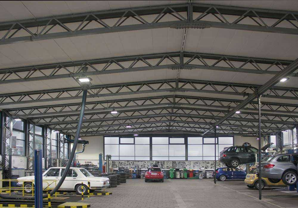 LED Hallenstrahler MH Serie - Werkstattbeleuchtung