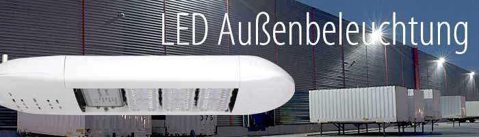 LED Straßenbeleuchtung und LED Außenleuchten