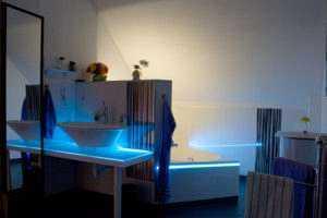 LED Lichtdesign Bad