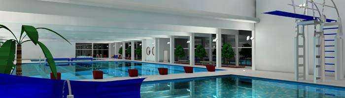 Schwimmbadbeleuchtung