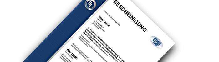DIN 10500 zertifizierte Leuchten für die Lebensmittelindustrie