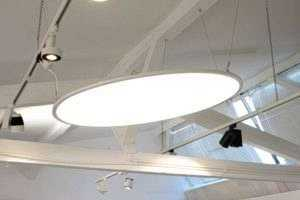 Rundes LED Panel