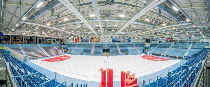 WSH Hallenbeleuchtung Schwalbe-Arena