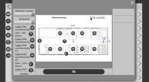 WSH PRO Building Gateway Hallenplan Montagehalle