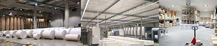 Anwendungsbeispiele Industriebeleuchtung