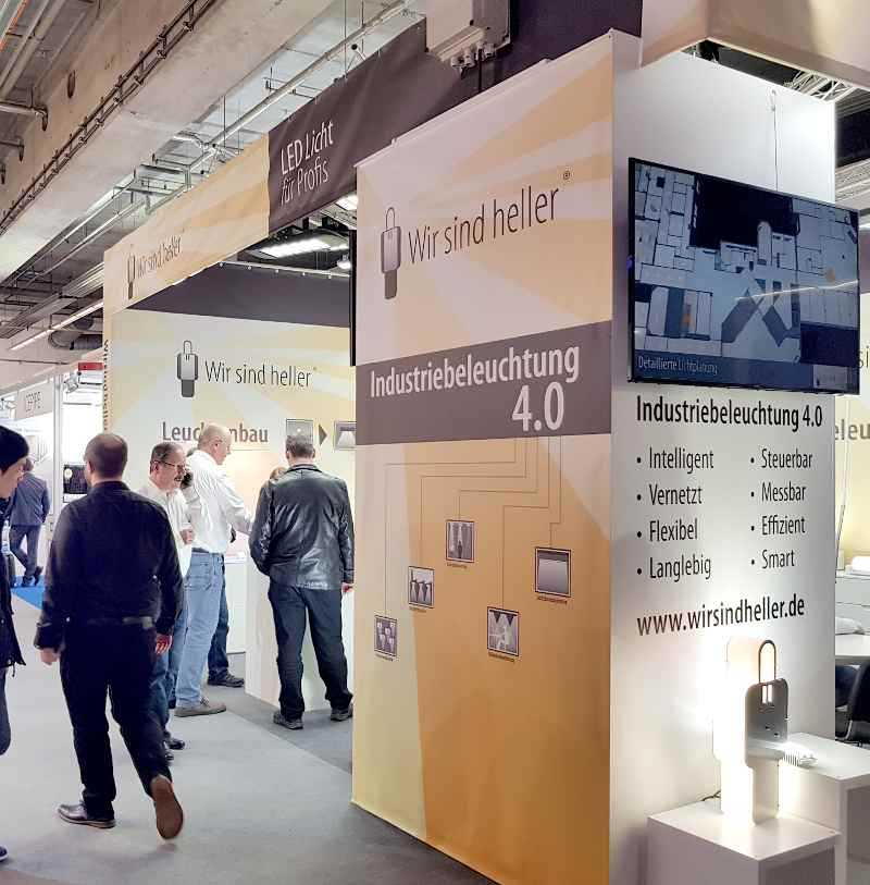 Wir sind heller - light and building 2018