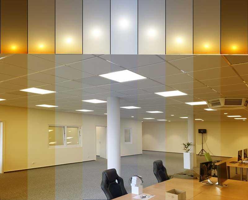 Human Centric Light - Büro