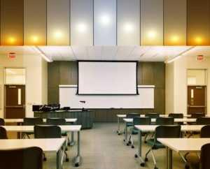 Human Centric Light - Klassenraum