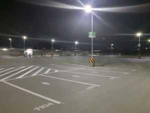 WSH One Mini Außenbeleuchtung Parkdeck